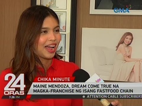 Maine Mendoza Just Checked Another One In Her Bucket List: OWN A MCDONALD'S FRANCHISE