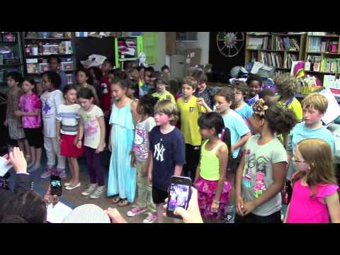 3rd Grade Music Performance @ Brooklyn New School (BNS) - 12 June 2014