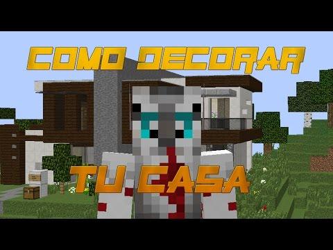 Como Decorar Tu Casa Moderna En Minecraft