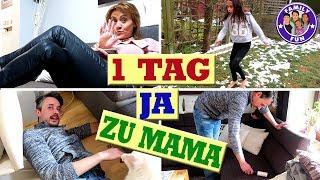 1 Tag JA zu MAMA - Sie BESTIMMT ALLES - 2000 Euro Kreditkarte Geplündert? - Family Fun