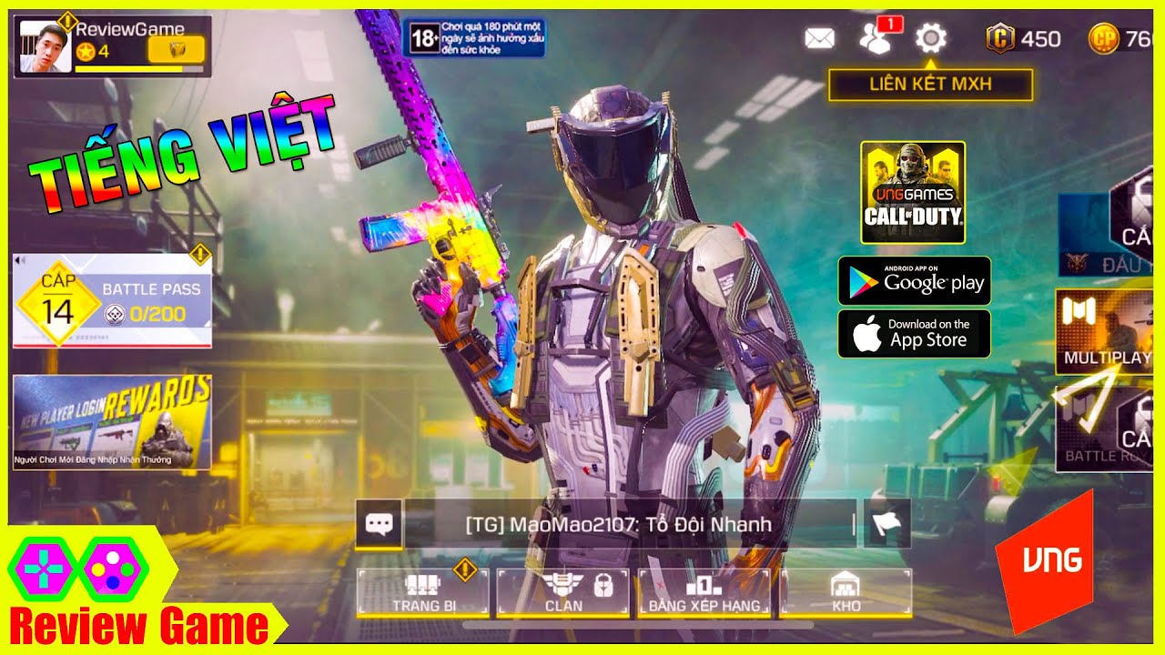 Call Of Duty: Mobile VN – Cực Phẩm Game FPS Tiếng Việt HOT Nhất 2020, Full Link Tải Cho Android/IOS