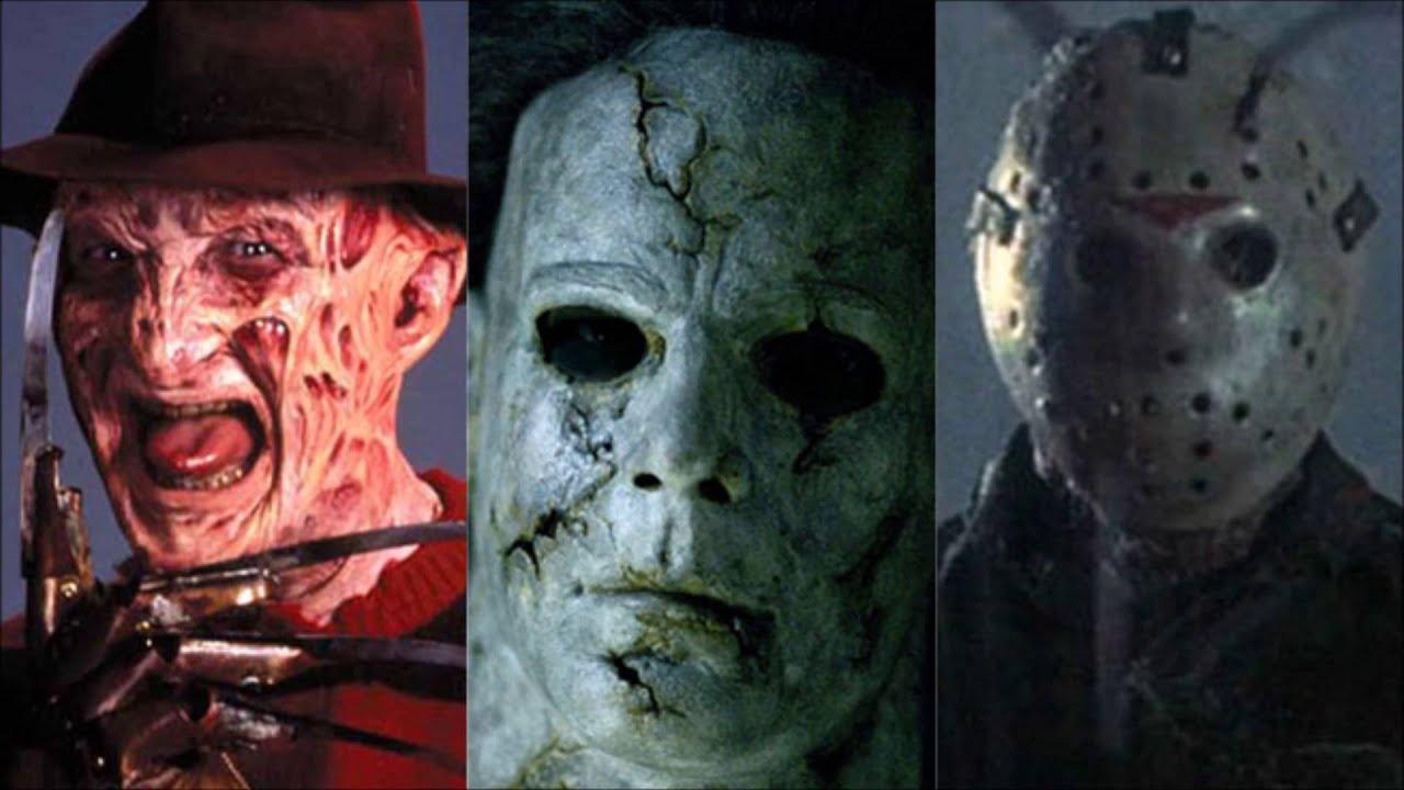 Homenaje a los Slashers (Freddy Krueger, Jason Voorhees ...