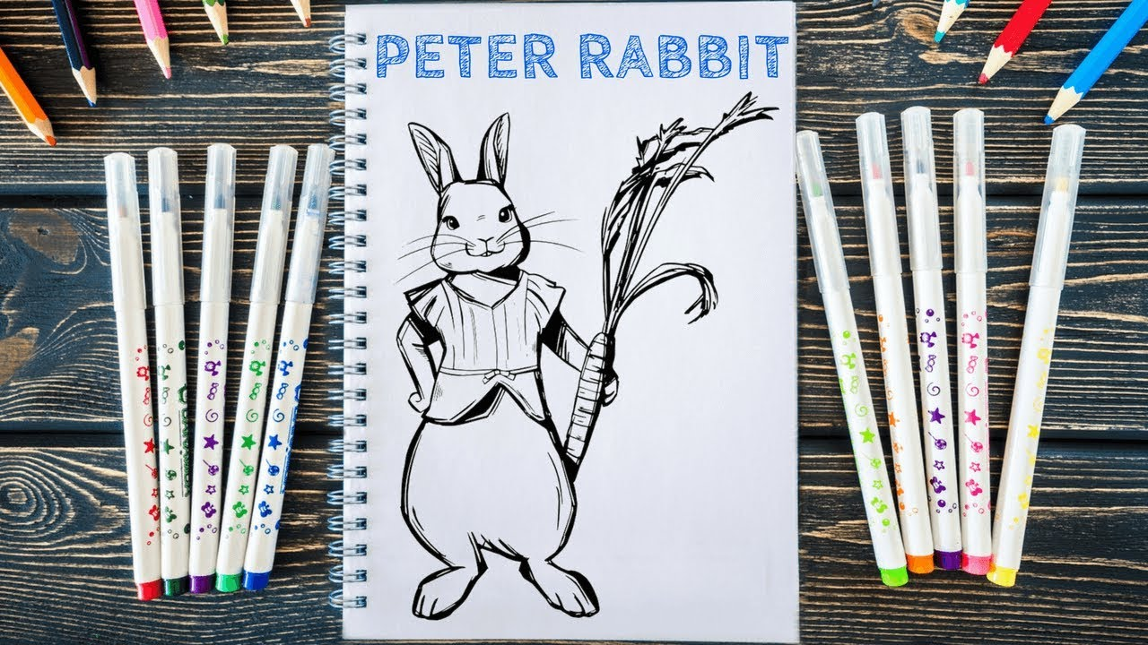 Peter Rabbit Movie | Peter Rabbit Coloring Pages - YouTube