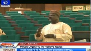 ASUP Strike: House Urges FG To Resolve Issues