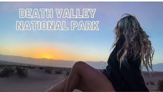 Death Valley National Pąrk Roadtrip | Hot Springs, Hiking, Sand Dunes, Camping