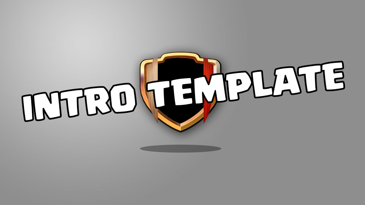 clash of clans free hd intro template for your youtube channel