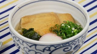 Kitsune Udon Noodle Recipe | Cooking with Dog thumbnail