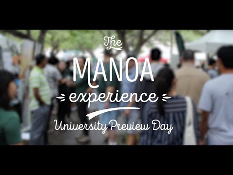 Manoa Experience: University Preview Day