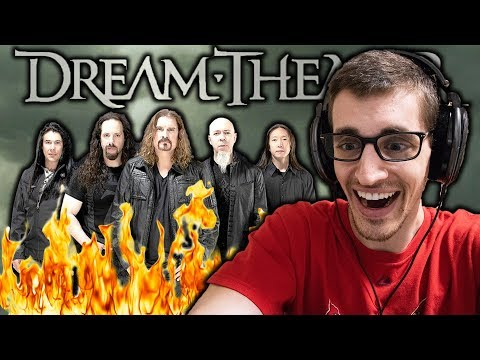 """Hip-Hop Head's FIRST TIME Listening to DREAM THEATER: """"Wither"""" REACTION"""