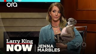 A Match Made In Heaven ? Larry Meets Jenna Marbles' Dog Kermit!