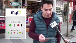 MYFI İnternet Hizmetleri - Müşteri Bilinirlik ve Memnuniyet Araştırması - Sakarya (Mart 2016)