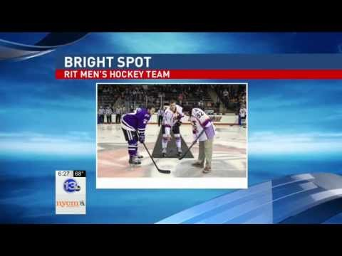RIT on TV: Hockey teams raise money for cancer foundations