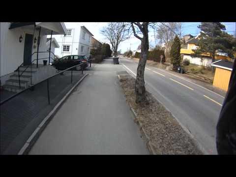 Atter et eksempel på hvorfor gang- og sykkelvei ikke er en god løsning