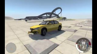 BeamNG Drive Testing The Cars On Speed Bumps #1