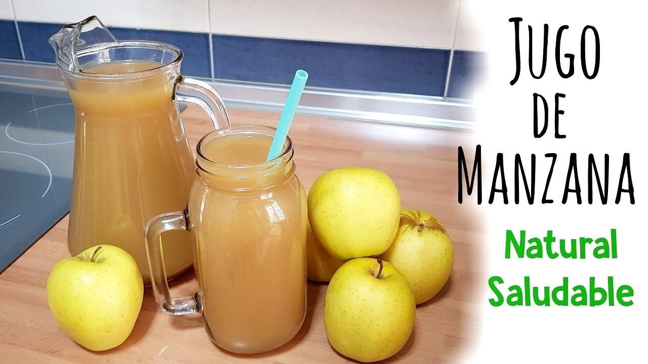 como preparar jugo de manzana para adelgazar