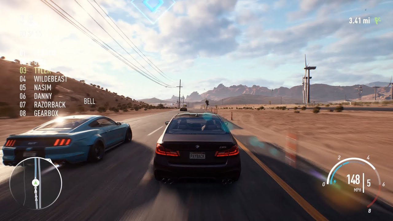 need for speed payback pc burning point gameplay 4k 60 fps youtube. Black Bedroom Furniture Sets. Home Design Ideas