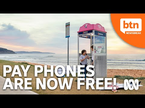 Telstra Announces Australia's Pay Phones Are Now Free to Use