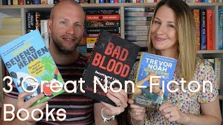 Bad Blood, Sevens Heaven & Born A Crime | Book Reviews