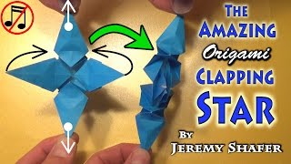 Origami: The AMAZING Clapping Star (no music)