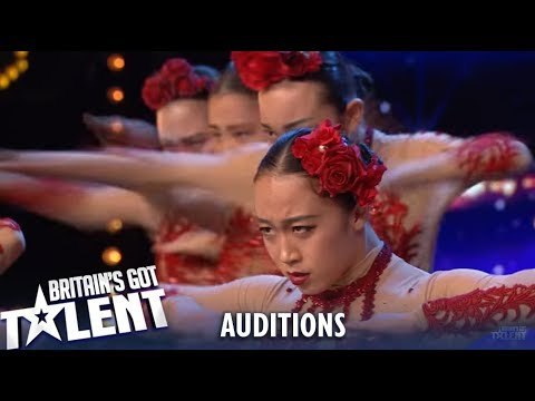 Fabulous Sisters: Dancers from Japan AMAZE With Flawless Audition! | Britain's Got Talent 2019