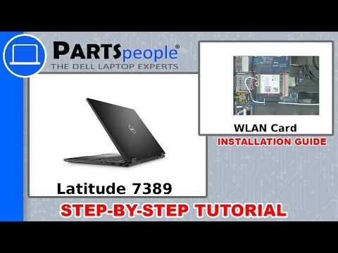 Dell Latitude 7390 (P29S002) WLAN Card How-To Video Tutorial
