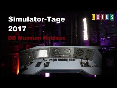 Simulator-Tage 2017 - DB Museum Koblenz mit LOTUS, Aerosoft, JTG, THM, SimLiveRadio u.v.m.