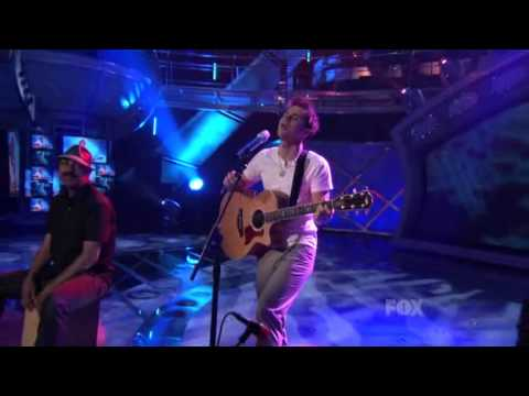 Kris Allen  She Works Hard For The Money American Idol 8 Top 6 HQ