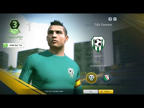 Mua Bán Acc Fifa Online 3 VIP | C. Ronaldo WB-Z. Ibra WB- Huỳnh Đức VL &  Kaka WB | Shopaccfo3.com