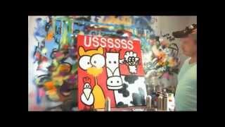 Art 4 Dummies - Kleurrijke schilderijen in opdracht