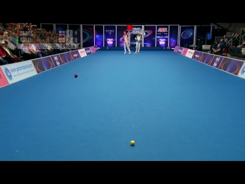 JUST 2018 World Indoor Bowls Championships (session 32)