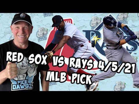 Boston Red Sox vs Tampa Bay Rays 4/5/21 MLB Pick and Prediction MLB Tips (Betting Pick)