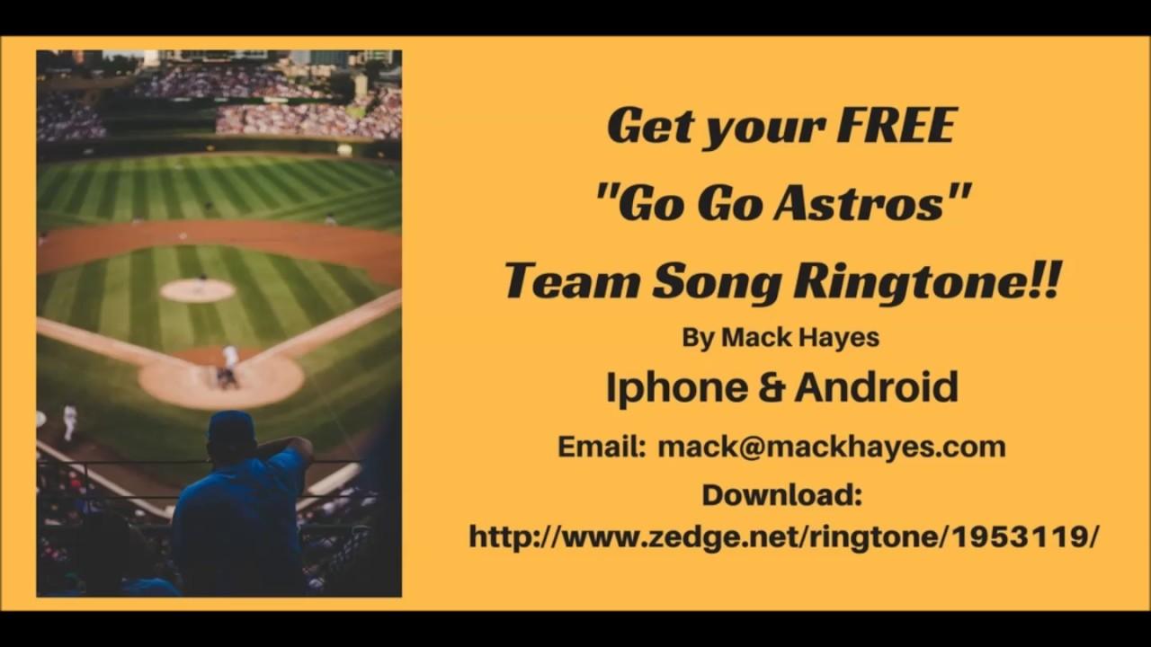 Go Go Astros Ringtone