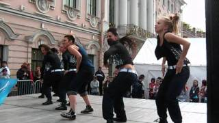 СПб  День Города wacking hip hop ragga урок