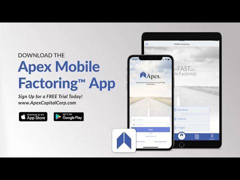Apex Mobile Factoring App | Factoring for Trucking Companies