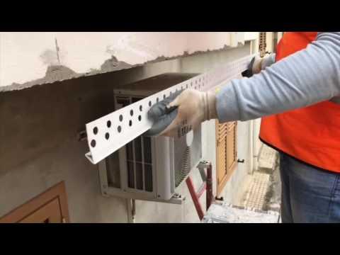 Gocciolatoio brake per balconi sporti e pensiline magma
