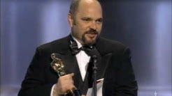 "Anthony Minghella winning an Oscar® for ""The English Patient"""