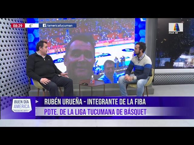 Rubén Ureña y toda la actualidad de la liga Tucumana de Básquet