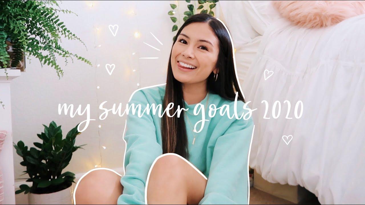 ✨MY SUMMER 2020 GOALS ✨