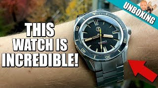 INCREDIBLE! Zelos Swordfish 300M Diver Watch - Unboxing & Initial Impressions