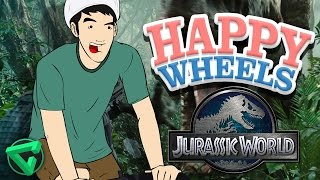 Happy Wheels: JURASSIC WORLD