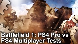 Battlefield 1 Multiplayer PS4 Pro vs PS4 Gameplay Stress Tests(, 2016-11-15T19:00:01.000Z)