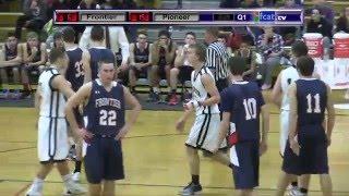 Frontier Regional BOYS Basketball vs Pioneer 2016