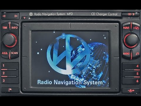 aux diy vw radio navigation system mfd vwz1z7 youtube. Black Bedroom Furniture Sets. Home Design Ideas