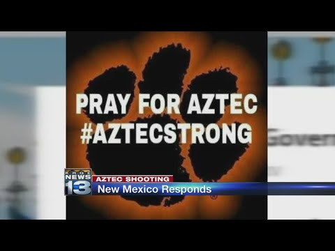 New Mexicans react to Aztec High School shooting, lend support