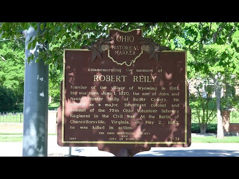Robert  Reily,  founder  of  Wyoming,  Ohio