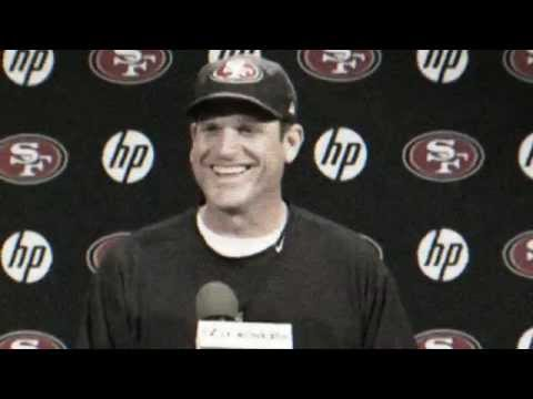 Best of Harbaugh Press Conferences for 49ers.com
