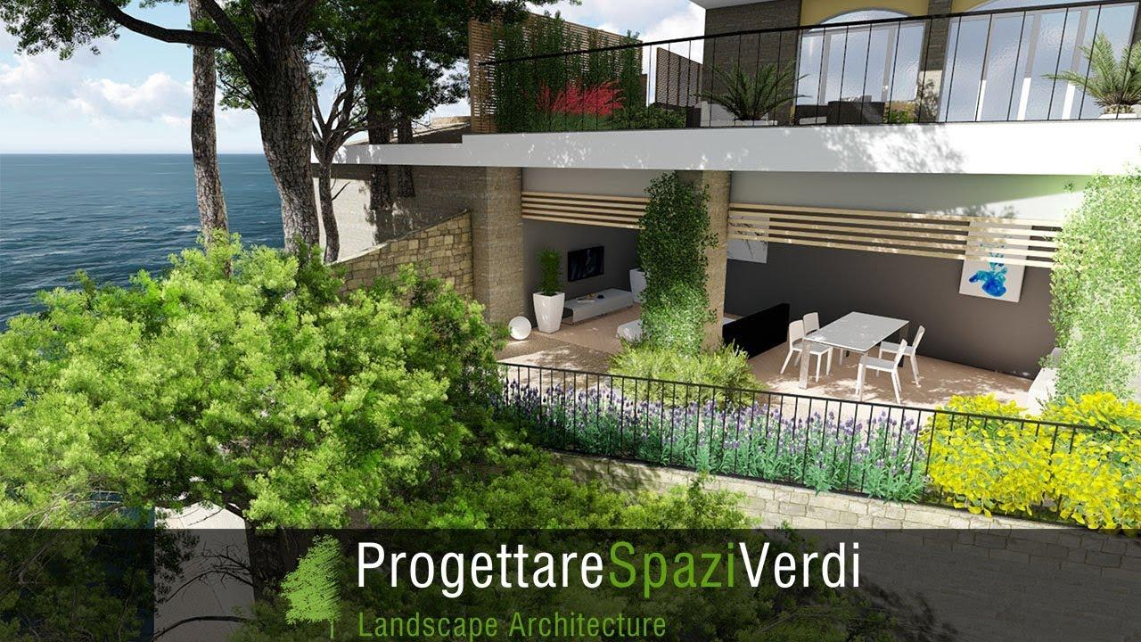 Progettare Spazi Verdi: progettazione giardini e terrazzi - YouTube