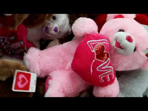 Stuffed Animals for Valentine's Day At Walmart 2018