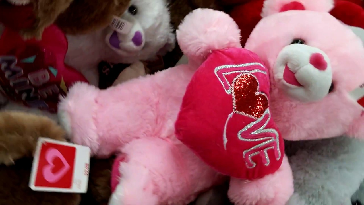 Stuffed Animals For Valentineu0027s Day At Walmart 2018