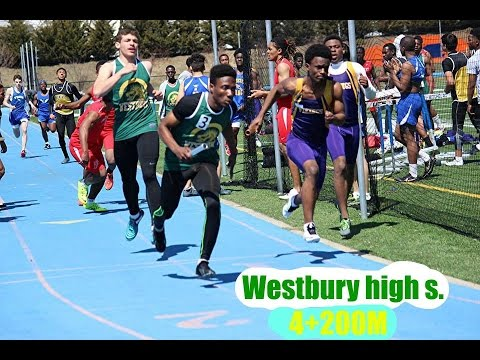 Westbury 4×100m relay at icahn stadium 2015